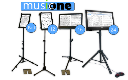 MusicOne digital music stand